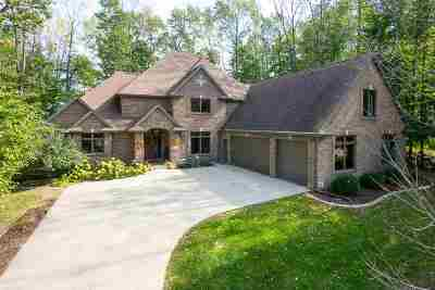 Greenville Single Family Home For Sale: N1490 Forest Glen