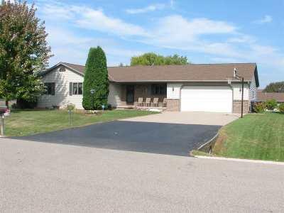 Appleton Single Family Home For Sale: W6024 Garnet