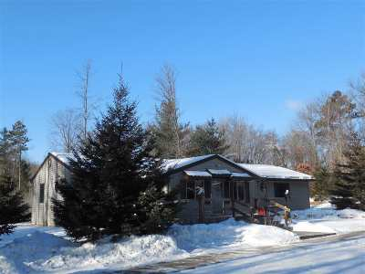 Pound Single Family Home For Sale: N5901 45th Circle