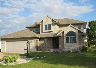 Appleton Single Family Home For Sale: W5944 Tranquil