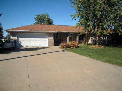 Kaukauna Single Family Home For Sale: N3869 McHugh