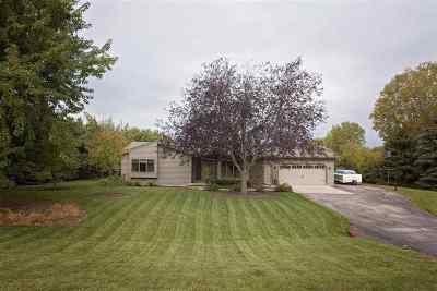 Appleton Single Family Home For Sale: N415 Dons