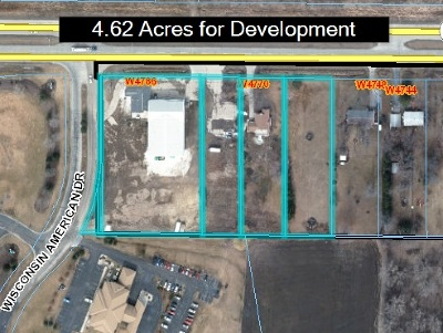 Residential Lots & Land Active-No Offer: W4786 Hwy 23