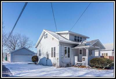 Appleton WI Single Family Home For Sale: $99,900