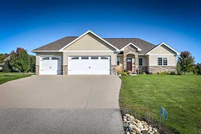 Neenah Single Family Home For Sale: 3532 Grand Meadows Crossing