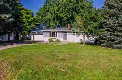 Appleton Single Family Home For Sale: 1623 S Van Dyke
