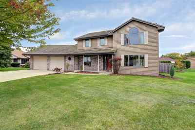 Neenah Single Family Home For Sale: 1748 Mill Pond