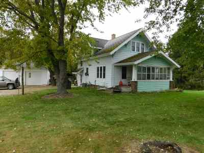 Appleton Single Family Home For Sale: N2943 Hwy E