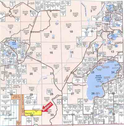 Oconto County Residential Lots & Land Active-No Offer