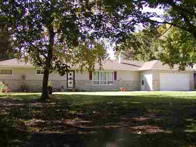 Oshkosh Single Family Home For Sale: 4797 S Hwy 45