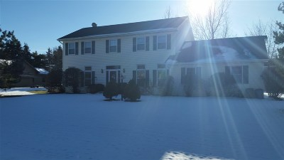 Appleton Single Family Home For Sale: N362 Tamarack