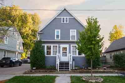 Appleton Single Family Home For Sale: 831 E Winnebago