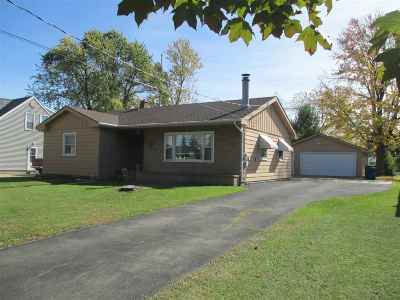 Menasha Single Family Home For Sale: 941 4th
