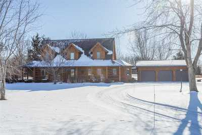 Seymour Single Family Home For Sale: W3421 Sievert