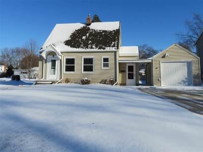 Single Family Home For Sale: 1612 S Driscoll