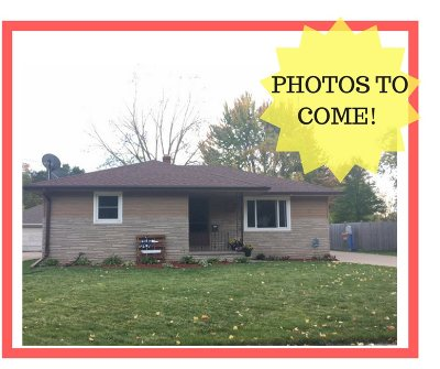 Menasha Single Family Home For Sale: 917 4th