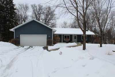 Crivitz Single Family Home For Sale: W8976 Pheasant