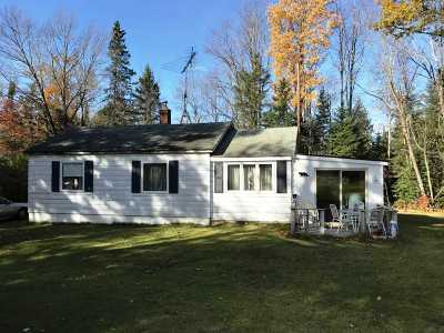 Athelstane Single Family Home For Sale: W14176 Hwy C