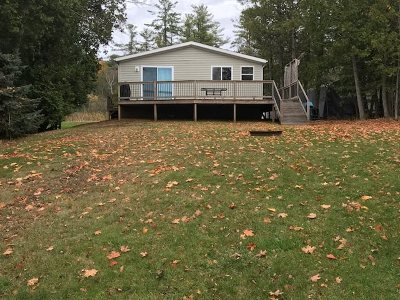 Oconto Falls Single Family Home For Sale: 8259 Coffey