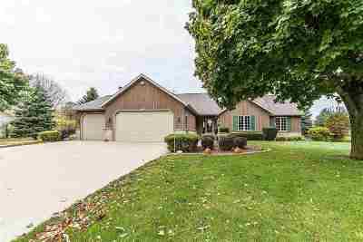Freedom Single Family Home For Sale: N4243 Oak