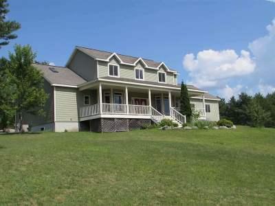 Dunbar Single Family Home For Sale: N17236 Lily Lake