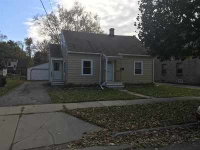 Appleton Single Family Home For Sale: 1421 W Harris