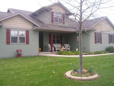Oshkosh Single Family Home For Sale: 3780 Parkview