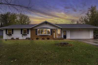 Greenville Single Family Home For Sale: N1603 Ridgeway