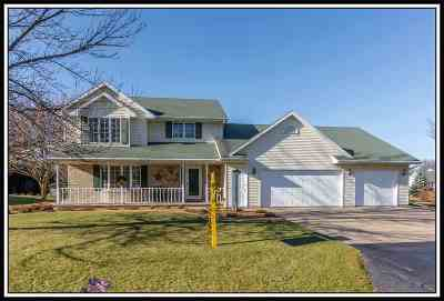 Appleton Single Family Home For Sale: N9603 Darboy