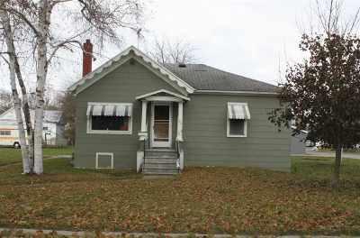 Oconto Single Family Home For Sale: 627 3rd