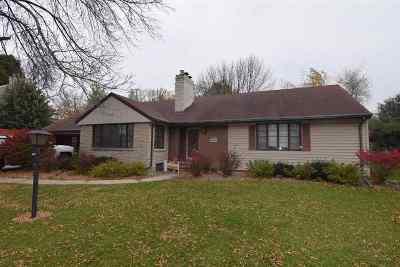 Neenah Single Family Home For Sale: 601 Winnebago