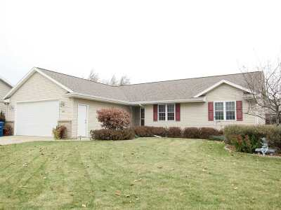 Neenah Single Family Home For Sale: 2286 Meadow Flower