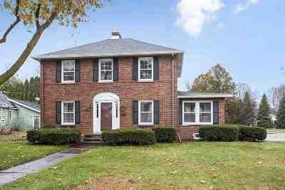 Oconto Single Family Home For Sale: 209 Madison