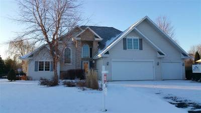 Oshkosh Single Family Home For Sale: 2751 Leila Mae