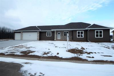 Menasha Single Family Home For Sale: 2400 Lake Cottage