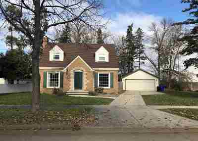 Single Family Home For Sale: 1344 W Packard