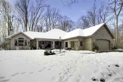 Appleton Single Family Home For Sale: W3351 Geenen