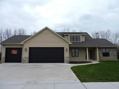 Appleton Single Family Home For Sale: W5821 Hoelzel