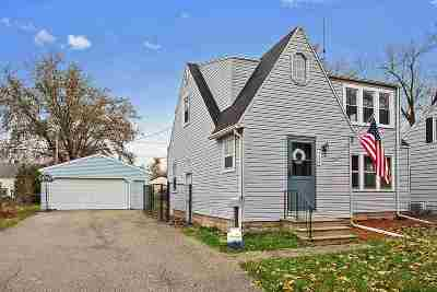Appleton Single Family Home For Sale: 308 E Wilson