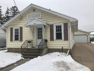 Appleton Single Family Home For Sale: 539 W Brewster