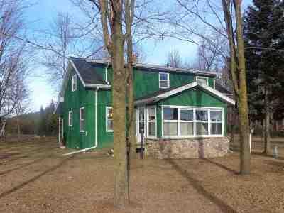 Gresham Single Family Home For Sale: W11012 Upper Red Lake