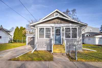 Appleton Single Family Home For Sale: 332 W Spring