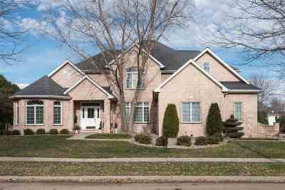 Appleton Single Family Home Active-No Offer: 400 E Haddonstone