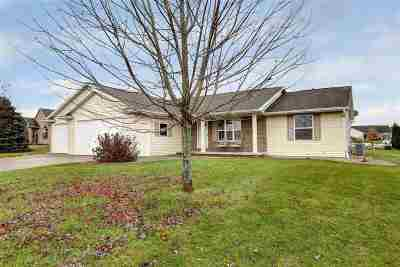 Greenville Single Family Home For Sale: W6483 Everglade
