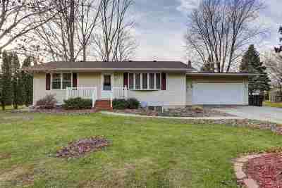 Winneconne Single Family Home Active-No Offer: 6571 Spruce
