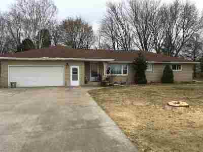 Appleton Single Family Home For Sale: W3737 Mackville