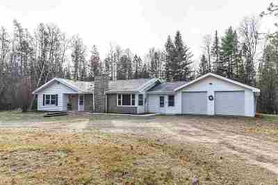 Athelstane Single Family Home For Sale: W13261 Hwy C