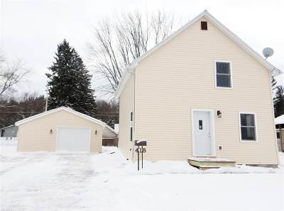 Oconto Single Family Home For Sale: 418 6th