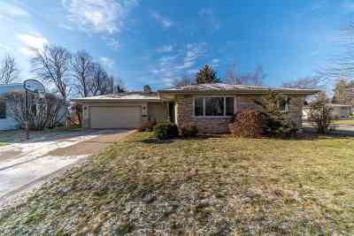 Neenah Single Family Home For Sale: 1345 Campbell