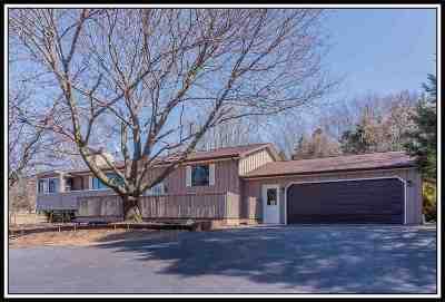Greenville Single Family Home For Sale: N1286 Churchill